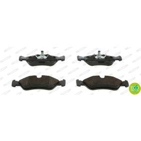 Bremsbelagsatz, Scheibenbremse Höhe 1: 51mm, Dicke/Stärke: 17,5mm mit OEM-Nummer 16 05 808.
