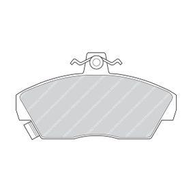 Bremsbelagsatz, Scheibenbremse Höhe 1: 65mm, Dicke/Stärke: 17mm mit OEM-Nummer GBP90314