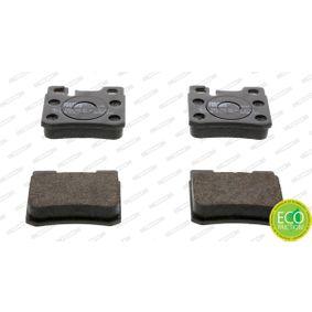 Bremsbelagsatz, Scheibenbremse Höhe 1: 59mm, Dicke/Stärke: 15,5mm mit OEM-Nummer 001 420 9520
