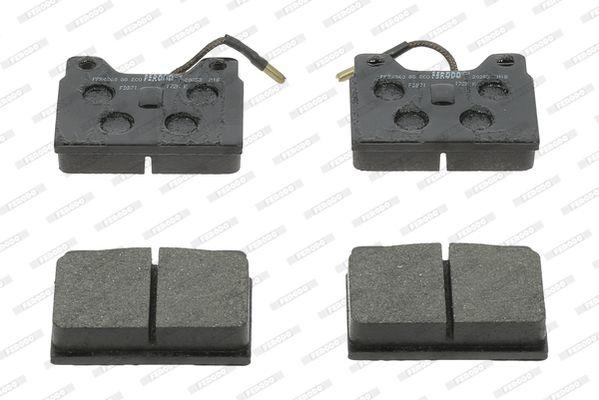 Bremsbeläge FDB71 FERODO 20271 in Original Qualität