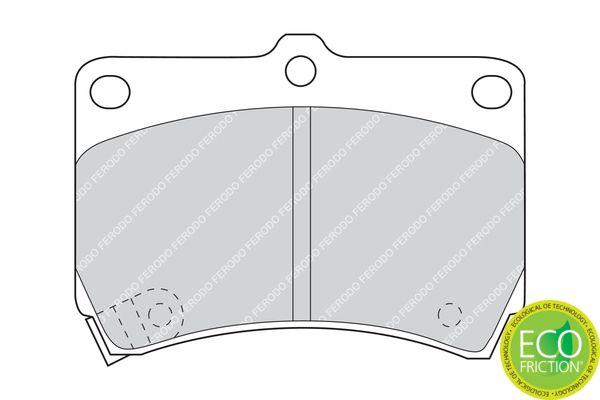 Bremsbelagsatz FERODO FDB715 Bewertung