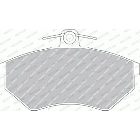 FERODO Bremsbelagsatz, Scheibenbremse FDB774C für AUDI 80 (81, 85, B2) 1.8 GTE quattro (85Q) ab Baujahr 03.1985, 110 PS