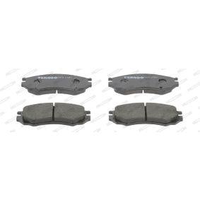 Bremsbelagsatz, Scheibenbremse Höhe 1: 52mm, Dicke/Stärke: 15mm mit OEM-Nummer D1060 0N685