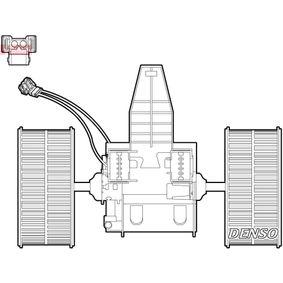 BMW E61 523i Innenraumgebläse DENSO DEA05009 (523 i 2.5 Benzin 2010 N53 B25 A)