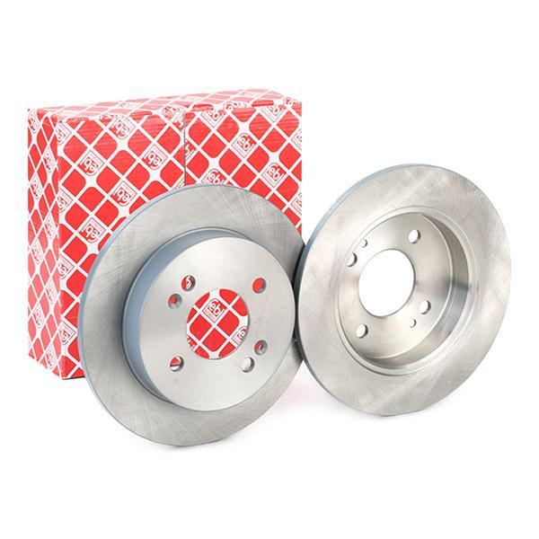 Brake Discs 108389 FEBI BILSTEIN 108389 original quality