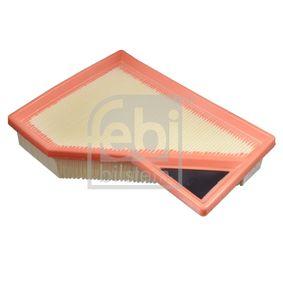 Luftfilter Länge: 217mm, Breite: 165,5mm, Höhe: 47mm, Länge: 217mm mit OEM-Nummer 1372 7 529 261