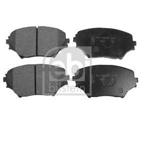 Bremsbelagsatz, Scheibenbremse Breite: 60,9mm, Dicke/Stärke 1: 17,3mm mit OEM-Nummer 04465 42 130