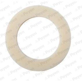 Уплътнителен пръстен, пробка за източване на маслото Ø: 20,00мм, дебелина: 1,50мм, вътрешен диаметър: 14,30мм с ОЕМ-номер N 13 849.2