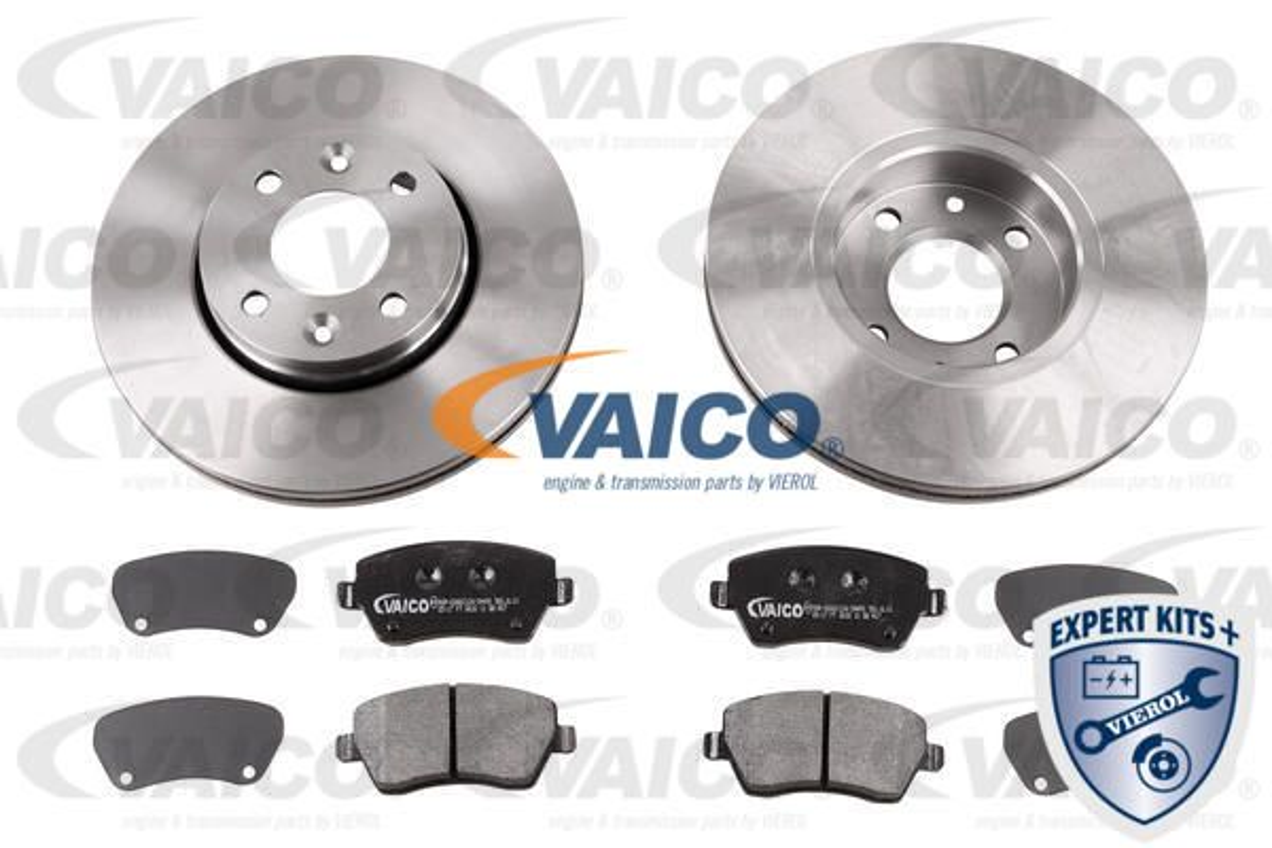 VAICO  V46-1229 Bremsensatz, Scheibenbremse Ø: 260mm, Bremsscheibendicke: 22mm