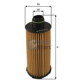 Ölfilter Höhe: 130mm mit OEM-Nummer 71779389
