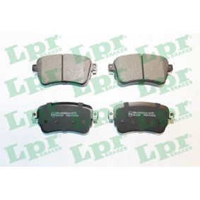 Brake Pad Set, disc brake Width: 114mm, Height: 53,4mm, Thickness: 17,5mm with OEM Number 16 179 368 80