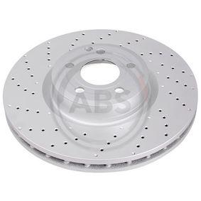 Bremsscheibe Bremsscheibendicke: 32mm, Felge: 5-loch, Ø: 342mm mit OEM-Nummer A2314211112