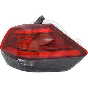 Nissan X-Trail T32 2.5 ALL MODE 4x4-i (NT32) Heckleuchte DIEDERICHS 6087990 (2.5 ALL MODE 4x4-i (NT32) Benzin 2021 QR25DE)