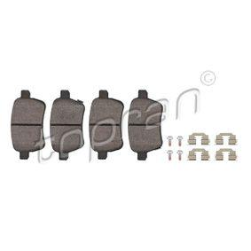 Bremsbelagsatz, Scheibenbremse Dicke/Stärke: 16,8mm mit OEM-Nummer 77366595