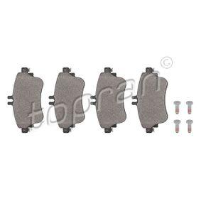 Bremsbelagsatz, Scheibenbremse Dicke/Stärke: 19,2mm mit OEM-Nummer A 008 420 04 20