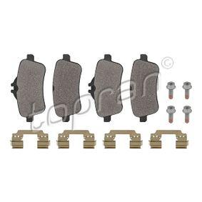 Bremsbelagsatz, Scheibenbremse Dicke/Stärke: 18,6mm mit OEM-Nummer A 007 420 77 20