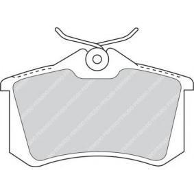 Bremsbelagsatz, Scheibenbremse Höhe: 53mm, Dicke/Stärke: 17mm mit OEM-Nummer 4254.67