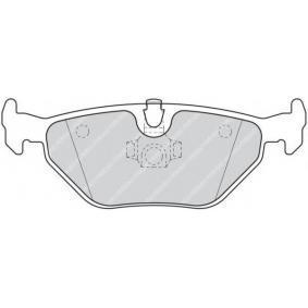 Bremsbelagsatz, Scheibenbremse Höhe: 43,7mm, Dicke/Stärke: 17,3mm mit OEM-Nummer 3421 1 164 501