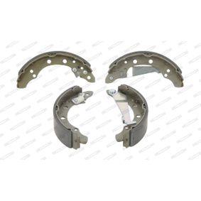 Bremsbackensatz Trommel-Ø: 200, Breite: 40mm, Dicke/Stärke: 5mm mit OEM-Nummer 6Q0 609 628 B