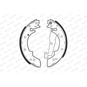 Bremsbackensatz Art. Nr. FSB173 120,00€