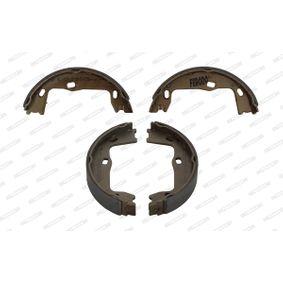 Bremsbackensatz, Feststellbremse Breite: 25mm mit OEM-Nummer 90509606