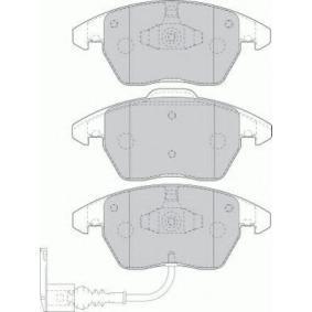 Bremsbelagsatz, Scheibenbremse Höhe 1: 71,4mm, Höhe 2: 66mm, Dicke/Stärke: 20,3mm mit OEM-Nummer 3C0-698-151-A