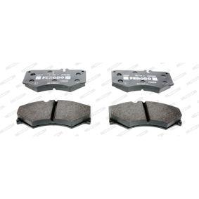 Kit de plaquettes de frein, frein à disque Essieu avant FVR239