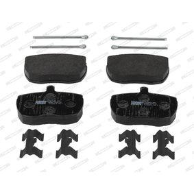 Bremsbelagsatz, Scheibenbremse Art. Nr. FVR829 120,00€