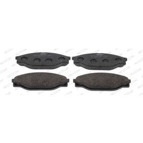 Bremsbelagsatz, Scheibenbremse Art. Nr. FVR949 120,00€
