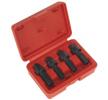 OEM Kit de machos para abrir roscas SX205 de SEALEY