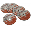 OEM Cutting Disc Set, angle grinder PTC/3C5 from SEALEY