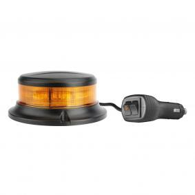 Warning Light Voltage: 12-24V, Housing Colour: Black 809050
