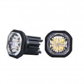 Warning Light Voltage: 12-24V, Housing Colour: Black 850122HPA