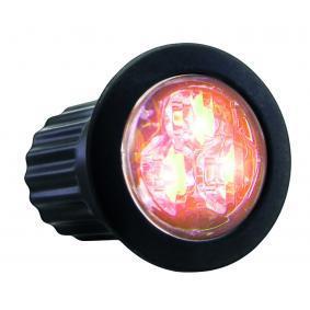 Warning Light Voltage: 12-24V, Housing Colour: Black 850190HPA