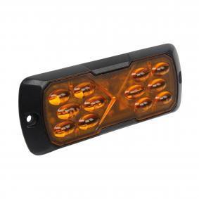 Waarschuwingslamp Spanning (V): 12-24V, Behuizingskleur: Zwart 850195HPA