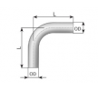 OEM Exhaust Pipe, universal 80065 from VANSTAR