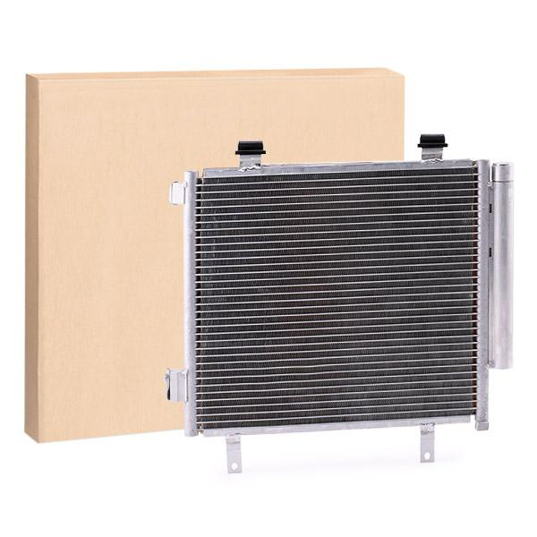 RIDEX Klimakondensator 448C0272 Kondensator,Klimakühler NISSAN,SUZUKI,PIXO UA0,ALTO HA25, HA35
