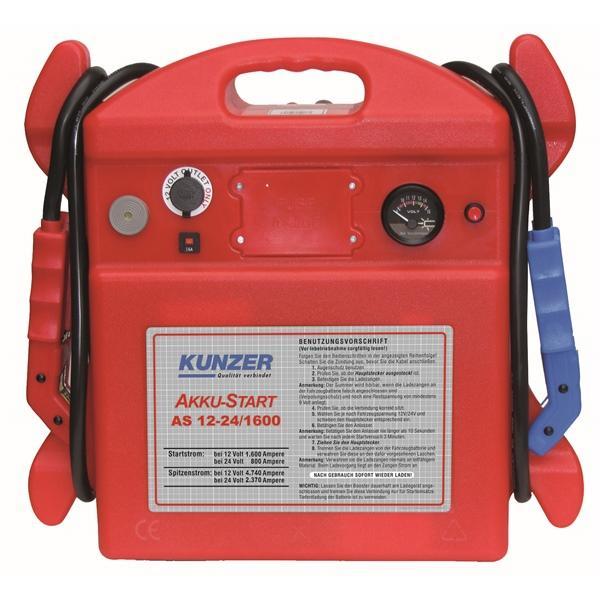 Car jump starter AS 12-24/1600 KUNZER AS 12-24/1600 original quality