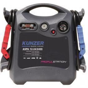 KUNZER Chargeur de batterie ASPD 12-24/2400