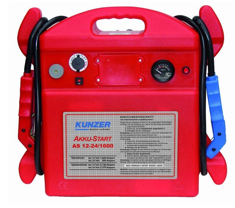 KUNZER  AS 6-12/1700 Car jump starter