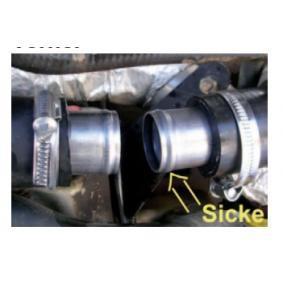 Συνδετικό στόμιο, σωλήνας του ψυκτικού υγρού NKSR-ROHR 55X1,5X60 MM MICRA 2 (K11) 1.3 i 16V Έτος 1999