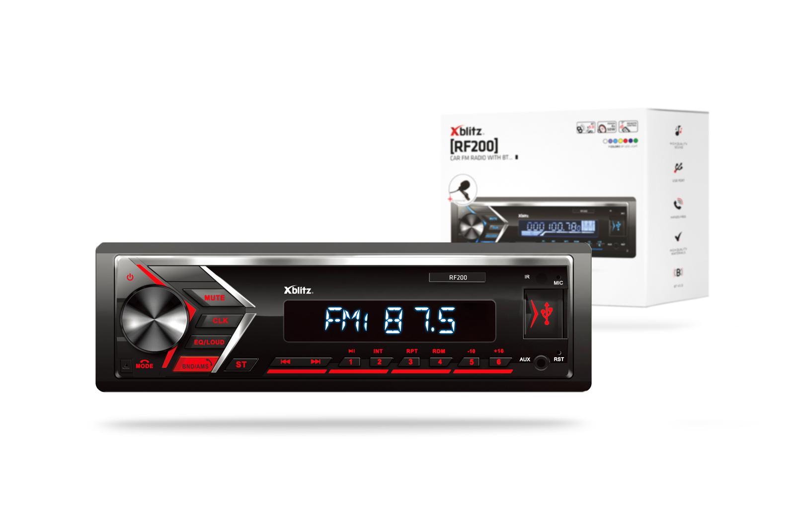 radio XBLITZ RF 200 5902479671413