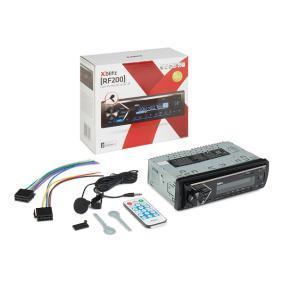 Estéreos Potência: 4x50W RF200