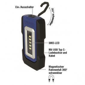 Φακος Χειρος Χωρητικότητα μπαταρίας: 1800mAh, διάρκεια φωτισμού: 3ώρες PL050