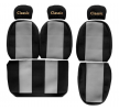 OEM Sitzschonbezug PS03 GRAY von F-CORE