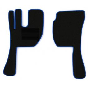 F-CORE Fußmattensatz MT14 BLUE
