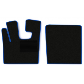 F-CORE Conjunto de tapete de chão MT02 BLUE