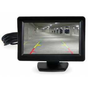 Monitor do sensor de estacionamento 0102030887