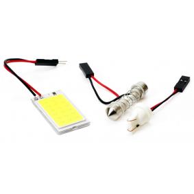 Крушка с нагреваема жичка, светлини за парк / позициониране LED (светодиоди), C5W, T10 , 1ват 30638/01621