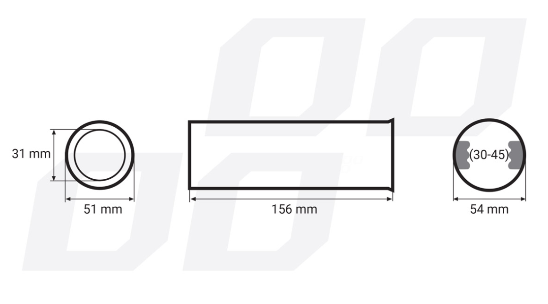 Exhaust Tip AMiO 01309/71009 rating